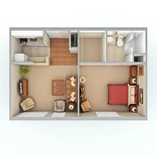How Big Is 480 Square Feet 100 One Room House Floor Plans Best 20 One Bedroom House