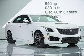 cadillac cts v 0 to 60 detroit auto cadillac launches 640 horsepower cts v sedan