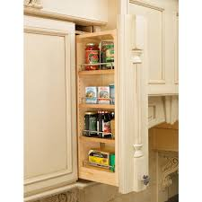 kitchen pull out cabinet rev a shelf 30 in h x 6 in w x 11 13 in d pull out between