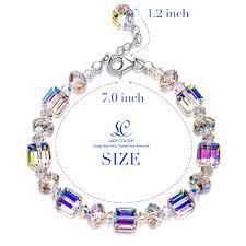 crystal bracelet swarovski images Ladycolour quot a little romance quot crystal bracelet series made with jpg