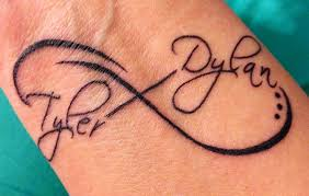 40 infinity symbol tattoos ideas