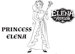 disney u0027s elena of avalor coloring pages sheet free disney