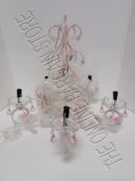 pottery barn kids chandeliers pottery barn pbk kids glossy pink lydia chandelier light beads