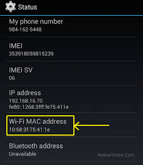 android mac how to change the mac address in android device root