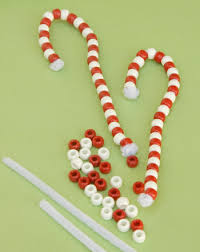 make beaded candy cane ornaments activity education com