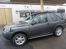 2002 land rover freelander interior land rover freelander 2 0 td4 es blackerton cross garage