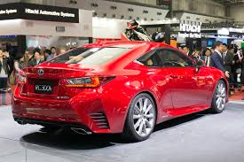 lexus rc red file lexus rc 300h rear right 2013 tokyo motor show jpg