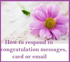 wedding wishes reply congratulation messages reply to congratulation messages card