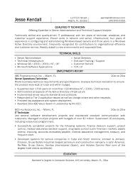 Hvac Technician Resume Examples It Technician Resume Examples Resume For Your Job Application