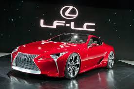 lexus lf lc info lexus lf lc hybrid concept detroit 2012 picture 63189