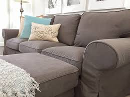 Pillow Back Sofa Slipcover by Furniture Exciting Ektorp Sofa Cover With High Quality Materials