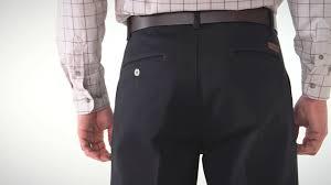 Rugged Wear Clothing Wrangler Rugged Wear Men U0027s Black Cotton Casual Pants Youtube