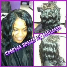 love this crochet weave done by yours truly paulette located in