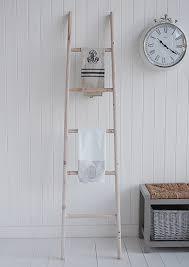 White Wooden Towel Ladder Uk Best Ladder 2017