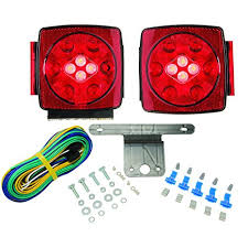 blazer led trailer lights amazon com blazer c7425 led submersible trailer light kit with
