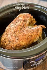 cooker turkey breast plain chicken