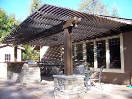 Pergola Coverings For Rain by Keep Your Lattice Covered