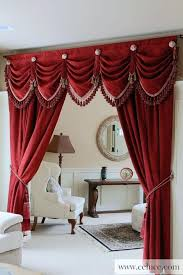Kitchen Curtains Swags swag valance curtains u2013 teawing co