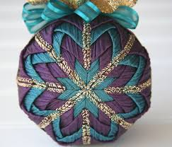 104 best quilted balls images on quilted ornaments