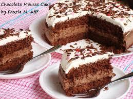 Chocolate Mousse Cake Fauzias Kitchen Fun Cakes Muffins