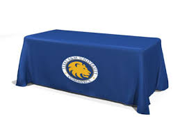 Custom Fitted Table Covers by Custom Table Cloth With Logo Custom Trade Show Table Covers