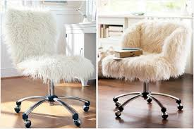 pink furry desk chair fuzzy office chair modern white desk a guide on furry crafts home