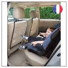 housse plastique siege auto 2 protection housse dossier arrière siège auto voiture enfant bébé
