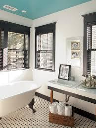 Black And White Checkered Tile Bathroom Black And White Bathroom Tile 1000 Ideas About Black Tile