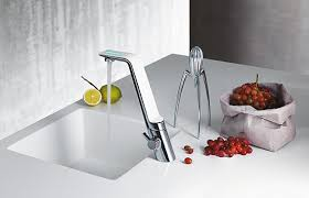 cucina kitchen faucets kitchen faucet la cucina alessi sense by oras faucet is opened by