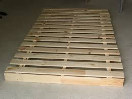 Flat Bed Frame Simple Flat Bed Frame