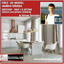 sketchup texture sketchup model kitchen vray for sketchup 1 6 beta sketchup model modern kitchen