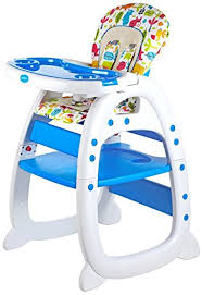 Baby Desk Amazon Com Evezo Merly High Chair Desk Combo Baby