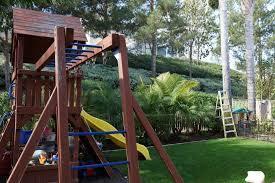 How To Build A Backyard How To Build A Backyard Zipline Oc Mom Blog Media Magazine