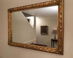 Beveled Bathroom Mirror by Bevel Wall Mirror Etsy