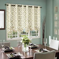 curtain ellis logan solid color tie up valance window in intended