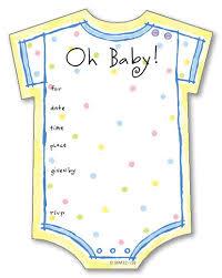 blank baby shower invitations cloveranddot com
