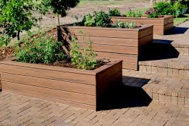 Backyard Planter Box Ideas with Lawn U0026 Garden Garden Planter Boxes Ideas With Wooden Container
