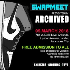 Swapmeet Presented by Archived this Saturday 03 05 16