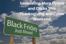 generating more opens and clicks this thanksgiving and cyber
