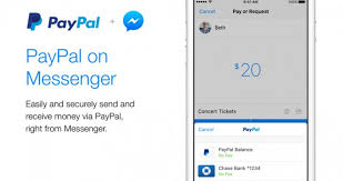 facebook introduces paypal on messenger is paypal now in
