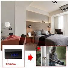 spy camera in the bedroom oumeiou 8gb full hd 1080p hidden spy camera clock ir amazon co uk