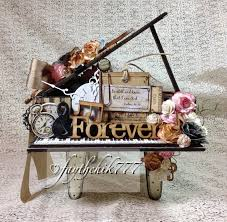 shabby chic altered wooden piano dt project for sacrafters com