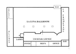la luna venue layout la luna banquet hall wedding venue in