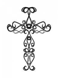 free printable wooden cross coloring pages kids coloring pages
