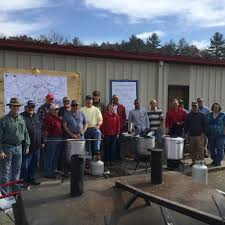 crews battling wildfires get an early thanksgiving meal thanks to
