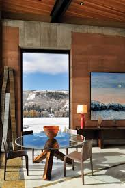 Earth Homes A Modern Rammed Earth House In Wyoming A Mountain View Painting