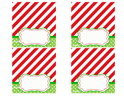 place setting template christmas easy to makeistmas place cards dining free