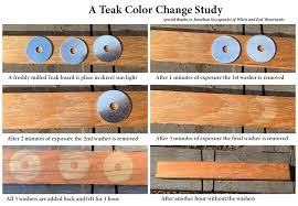 color matching wood is a waiting