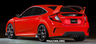 Honda Civic Type R Horsepower Honda Civic Type R 5 Door Hatchback Rendered In Red
