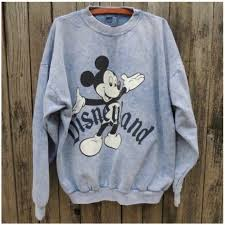 25 disney sweaters vintage acid wash mickey disneyland